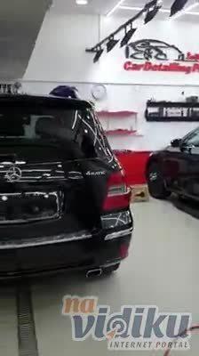 Poliranje Mercedes ML