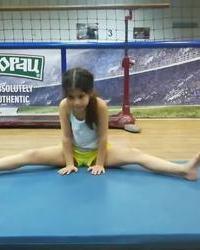 Ritmička gimnastika u službi lepote devojčica - 8 deo