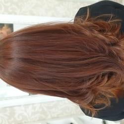 Meliranje kose, šišanje i feniranje