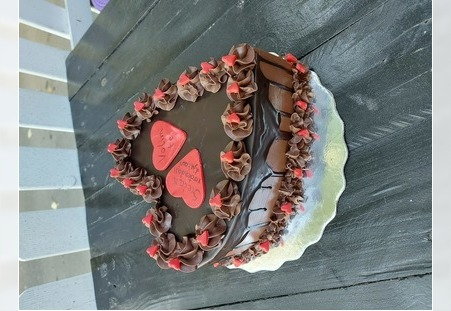 Torta u obliku srca