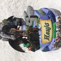 Torta od kartona zmaj