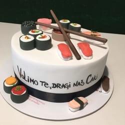 Suši torta