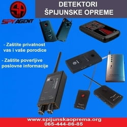 Detektori spijunske opreme