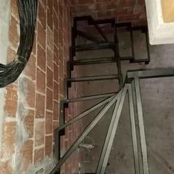 Stepenice od kovanog gvozdja po meri