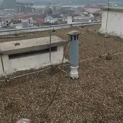 Odgušenje kanalizacije sa krova zgrade