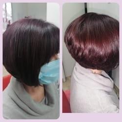 Feniranje kratke kose