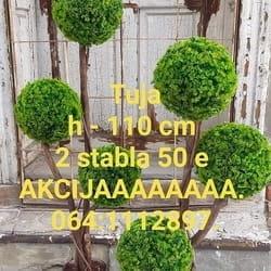 VEŠTAČKE TUJA LOPTE 140 cm