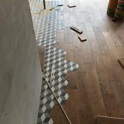 Direktan spoj masivnog brodskog poda i keramike