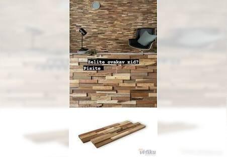 Mozaik od drveta - drvene obloge
