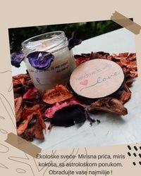 Mirišljave ekološke sveće u teglicama- Mirisna priča