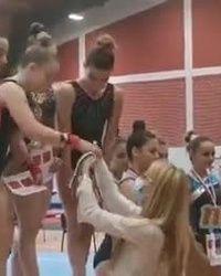 Uručenje medalja najboljim gimnastičarima