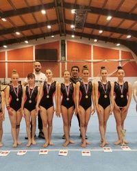 Takmicarska gimnastika