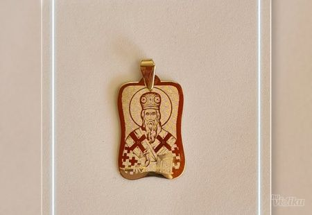 Zlatni privezak ,sv. Vasilije