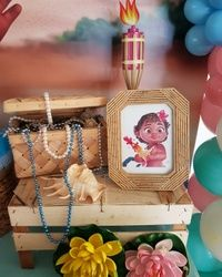 Dekoracija prvog rođendana - Moana