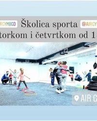 Školica sporta na Medakoviću