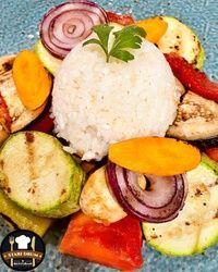 Grilovano povrće sa pirinčem