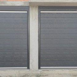 Garaža vrata sa plafoniskim motorom.