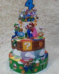 Torta od kartona Super Mario