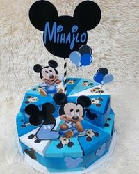 Torta od kartona Miki Maus