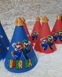 Rodjendanske kapice Super Mario