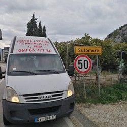 Kombi prevoz robe Crna Gora